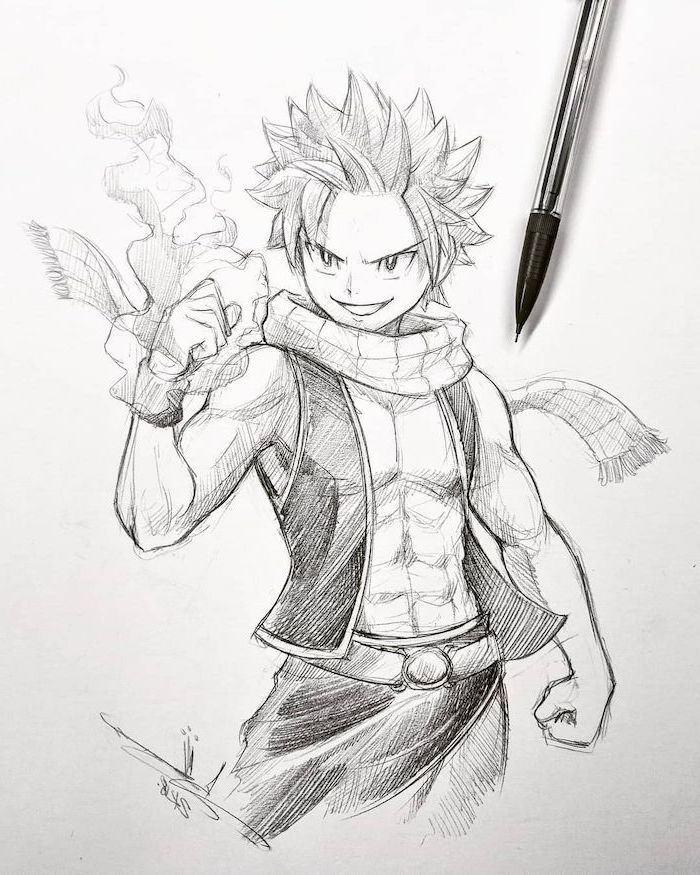How To Draw Anime Characters Pencil Sketch Black And White Anime Boy Sketch Anime Character Drawing Anime Drawings Boy