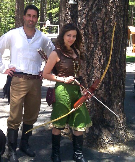Hereu0027s the costume I wound up making for the renaissance fair in South Lake Tahoe on  sc 1 st  Pinterest & The 9 best Medieval Archery Costume Ideas images on Pinterest ...