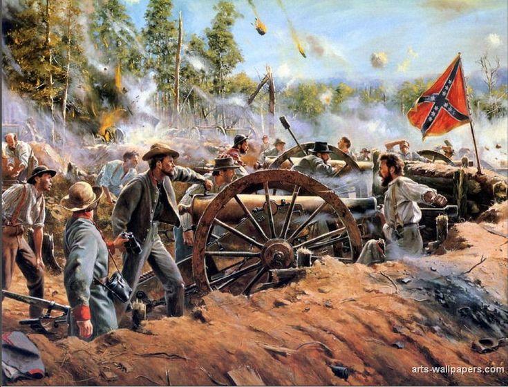 17 Best Images About Civil War Paintings On Pinterest