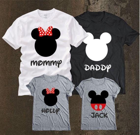 Camisas familia Disney, emparejando familia Disney camisetas, personalizadas camisetas de Disney para la familia y mujer, camisas de familia, familia camisa, camisa de calidad