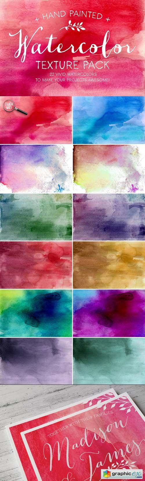 http://graphicex.com/stock-image/stock-textures-patterns/19774-watercolor-texture-pack-74570.html