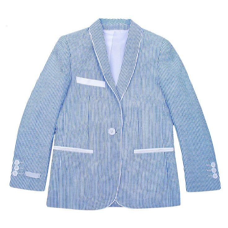 Wd·ny Boys' Blazer - Light Blue 20