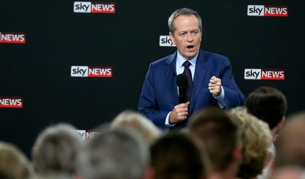 Malcolm Turnbull evaded questions about why voters appeared disappointed in him, while Bill Shorten fielded a range of questions.