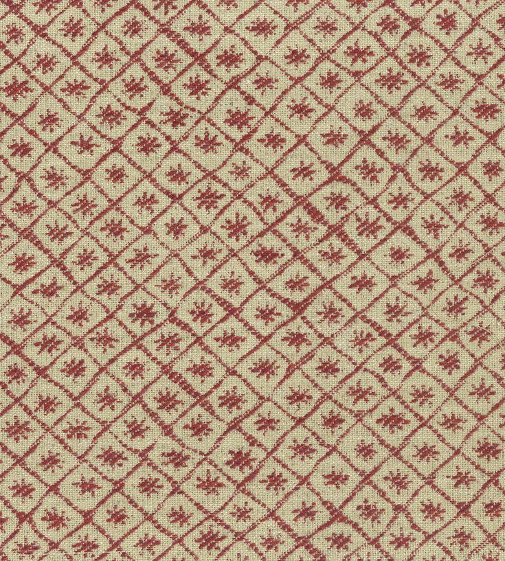Pantone, Marsala | Solitaire Fabric by Nina Campbell | Jane Clayton