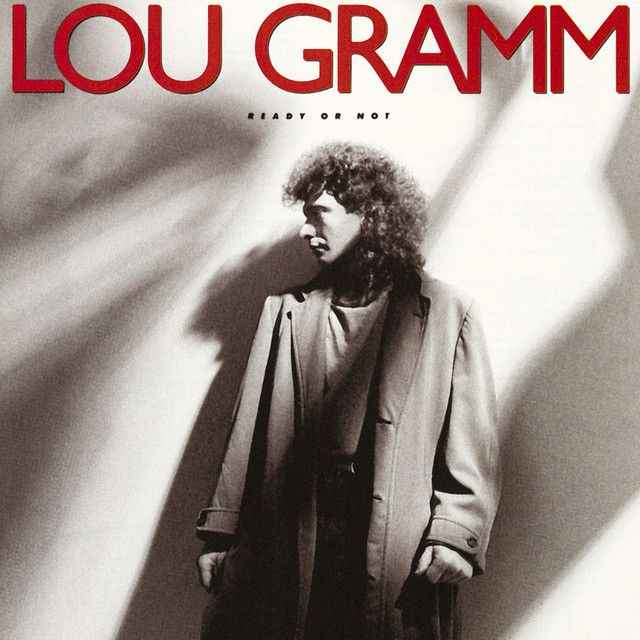 """""""Midnight Blue"""" by Lou Gramm was added to my Discover Weekly playlist on Spotify"""