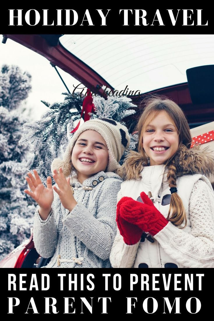 Traveling with kids this Christmas? Then you need to read this hilarious & accurate post about how holiday vacations don't always go as planned!