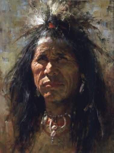 Howard Terpning : Blood Man