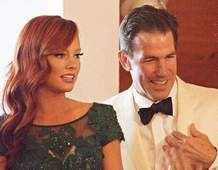 """Kathryn Dennis (left) and Thomas Ravenel, cast members of the Bravo TV reality show, """"Southern Charm,"""" announced Tuesday that they are paren..."""