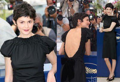 """Me encanta la actriz francesa, AUDREY TAUTOU, conocida mundialmente por interpretar en 2001 el papel principal en la película """"Amelie"""" Pod..."""