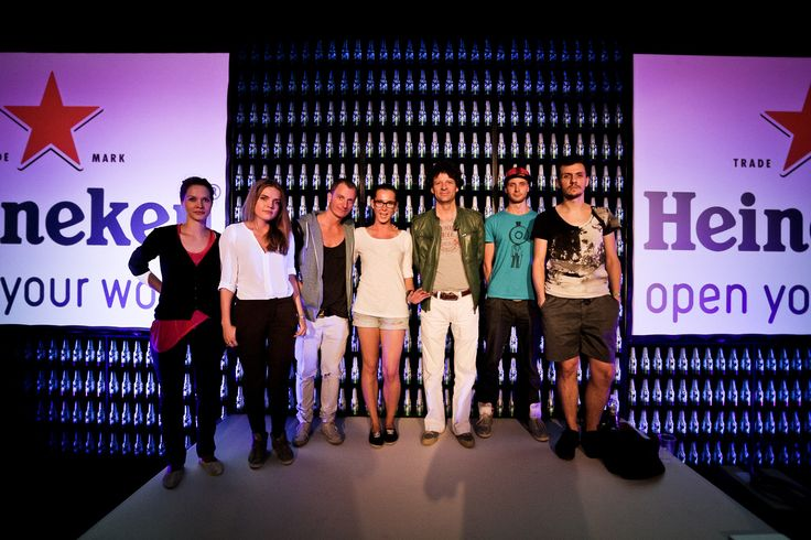 #Heineken #Design Pavilion Mark Van Iterson - Global Brand Design Manager i finaliści konkursu Open Design Explorations #futureloungedesign