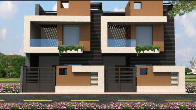 Fyi Best Row House Design Row House Design Duplex House Design Architectural House Plans