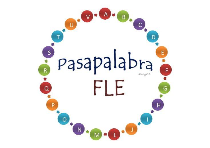 Jeu du Pasapalabra en français pour travaillerle vocabulaire de l´alimentation, la famille, le collège, la ville, la maison, culture, sports, loisirs, santé.