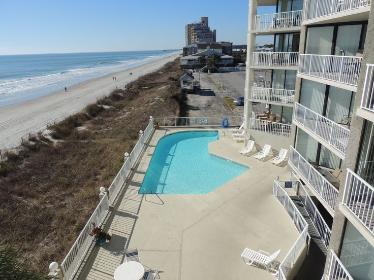 Love The Beach And Pool At One Ocean Place In Garden City Beach, SC.