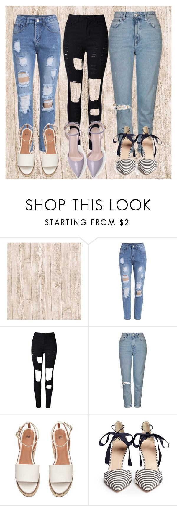 """Set."" by ro-mondryk on Polyvore featuring Topshop and J.Crew"