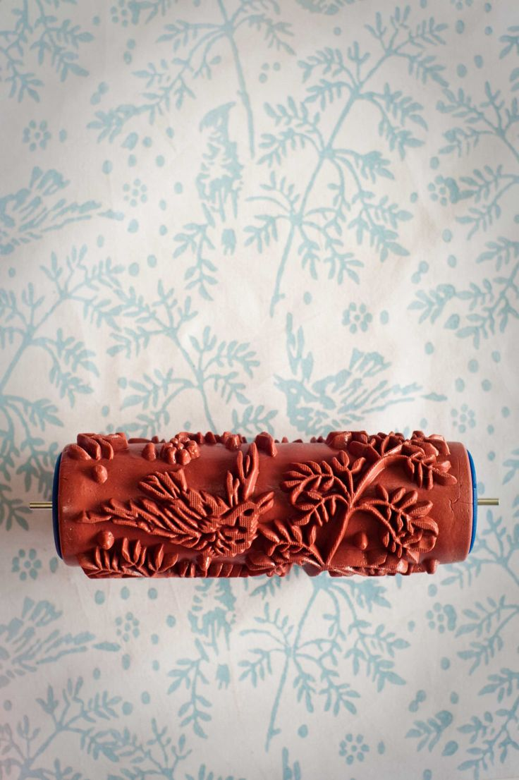 No. 1 Patterned Paint Roller from The Painted House by patternedpaintroller on Etsy https://www.etsy.com/listing/109883586/no-1-patterned-paint-roller-from-the