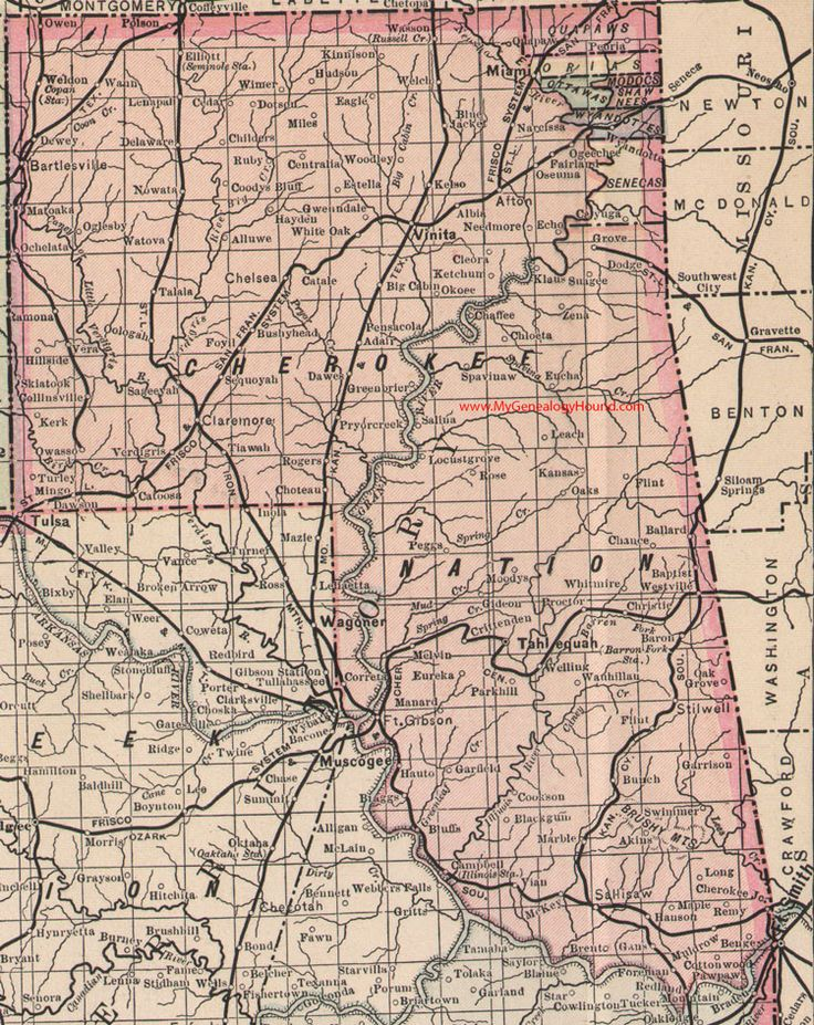 17 Best images about Vintage Oklahoma and Indian Nation Maps on Pinterest M