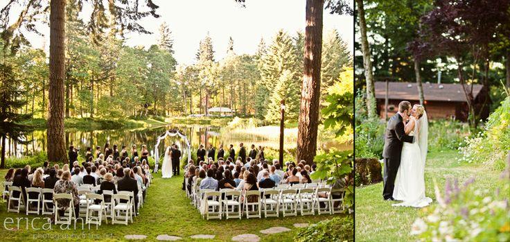 Enchanting Forest Wedding In Portland Oregon Veil And