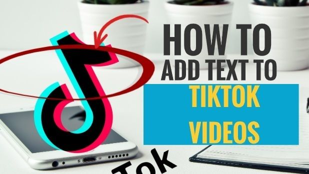 How To Add Text To Tiktok Videos 5 Simple Steps My Media Social In 2020 Text Add Text Ads