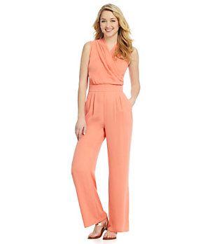 Gianni Bini Peach Jumpsuit - Macy's | LIMITED EDITION | Pinterest ...