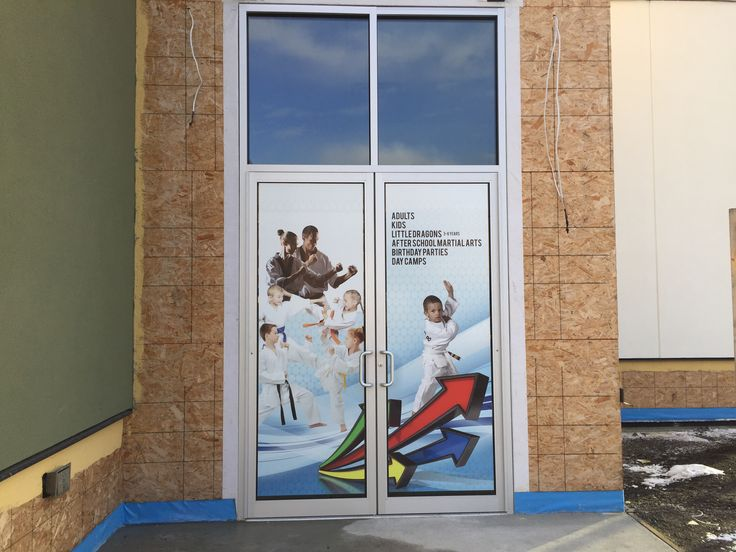 Some of the front window vinyl getting started. The goal is to have all the remaining tile and vinyl done today.   Register now for March! www.glenmoremartialarts.com  250-868-8690  #kelowna #martialarts #glenmoremartialarts #martialartskelowna #glenmore #northglenmore #kids #preschool #afterschool #adults #birthdayparties #daycamp #springbreak #camps #privateclassess