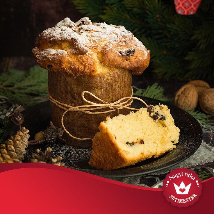 Csodás olasz karácsonyi sütemény következik
