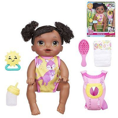 Baby #alive baby go #bye-bye #african-american doll - new in hand ,  View more on the LINK: http://www.zeppy.io/product/gb/2/361630889096/