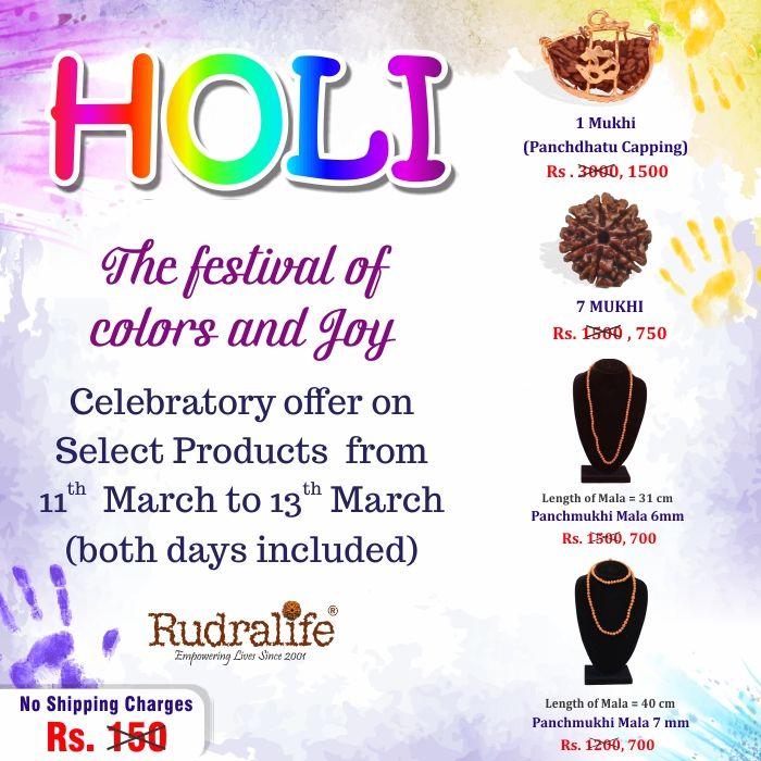 #rudrakasha #rudralife #offer #holi #sale #offeroftheday #discount
