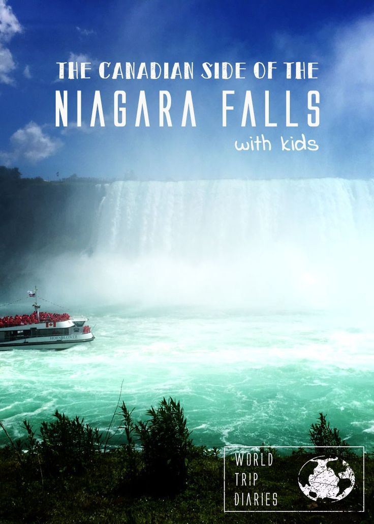 THE Niagara Falls! IT was a dream, and it was a LOT better than we imagined! Click to read more