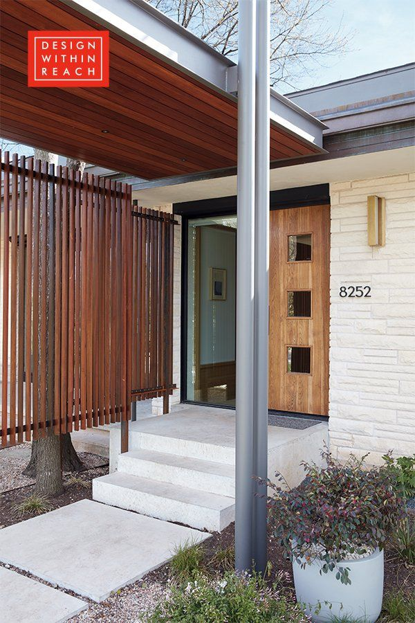 Neutra Modern House Numbers Modern House Number Ranch Style