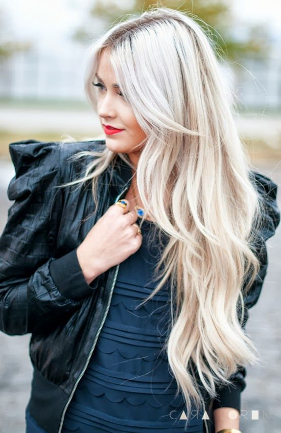 wish i could dye my hair this color without looking like a martian... love it