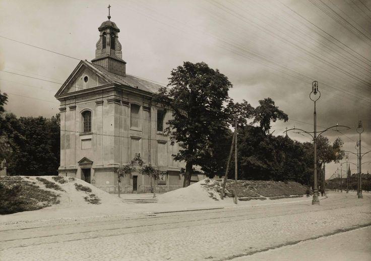 Warszawa - Kościół świętego Warzyńca na Woli (lata 30. XX w.)