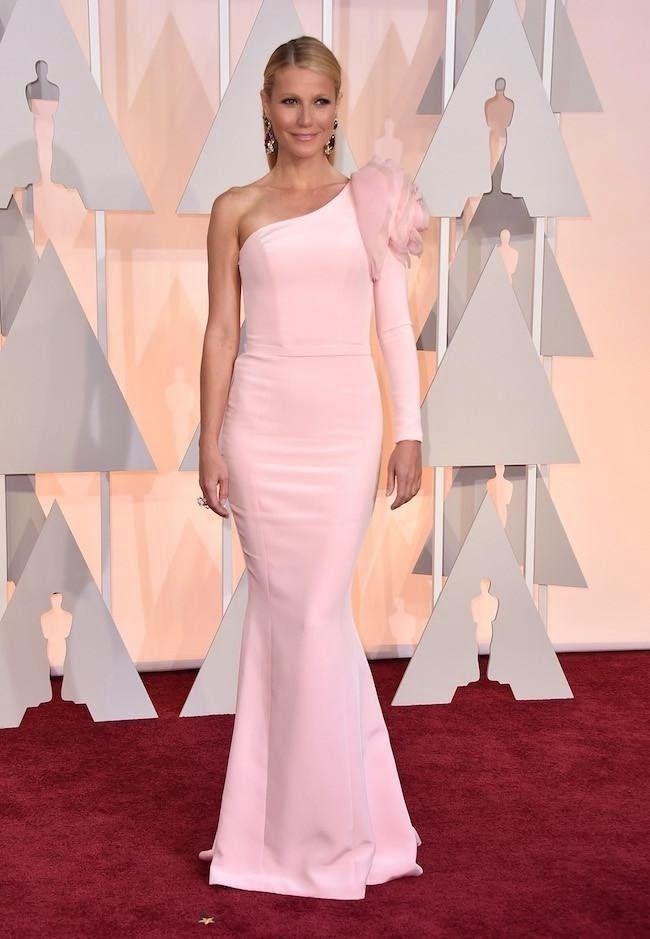 Ember Willowtree: Gwyneth Paltrow endulzó la noche de los Oscar 2015 con Ralph & Russo