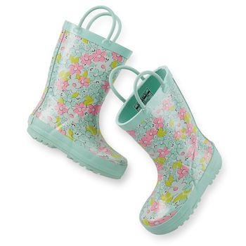 Floral Rain Boots- Melody & Molly