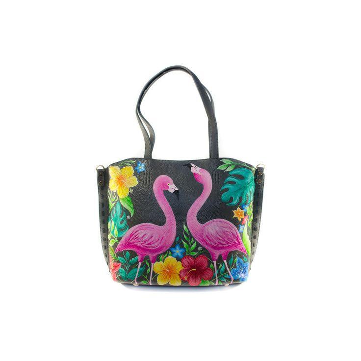 фламинго, недорогой подарок, тропический принт
