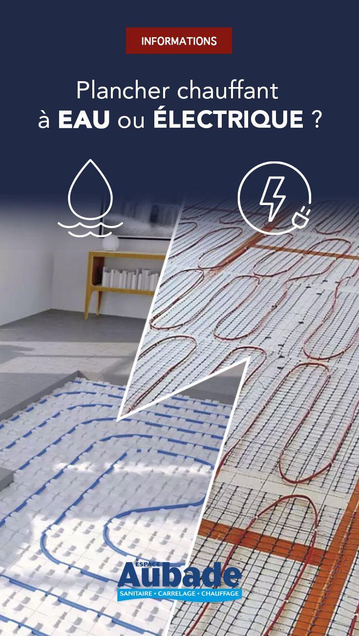 Blog En 2020 Plancher Chauffant Plancher Plancher Chauffant Electrique