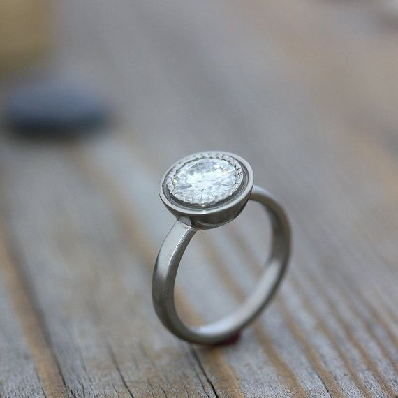 1000 images about minimalist engagement rings on