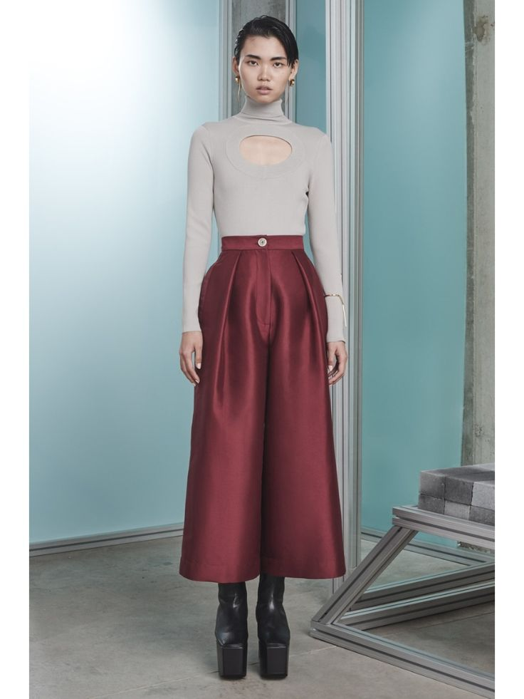 Solace London Francine Trousers Rosewood Image 0