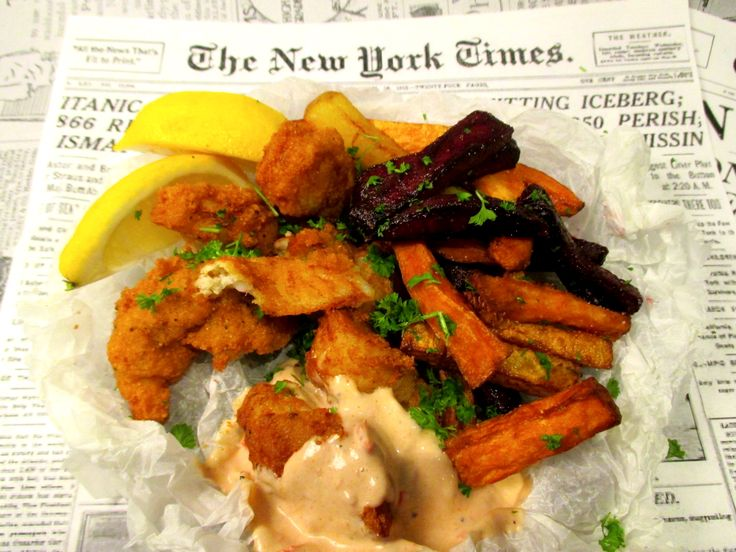 Tinskun keittiössä: Fish and Chips värikkäämmin, ja kalaa huutokaupasta