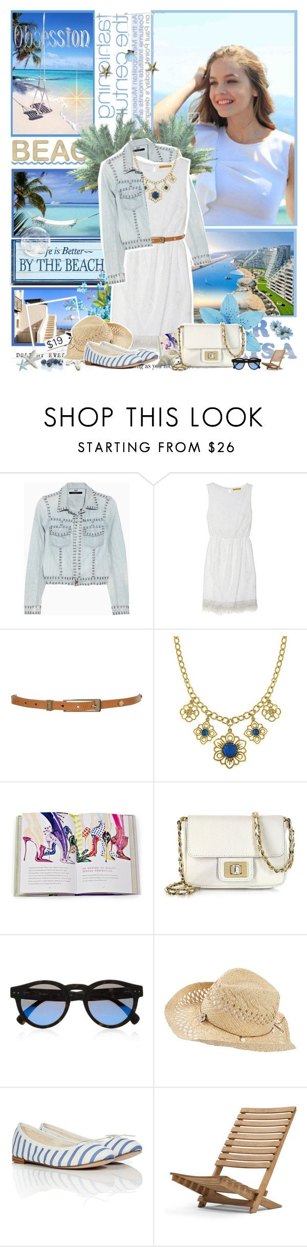 """Barbara Palvin"" by aane1aa ❤ liked on Polyvore featuring PLANT, Ksubi, Alice + Olivia, Biba, Juicy Couture, Illesteva, Fat Face, Repetto and Skagerak"