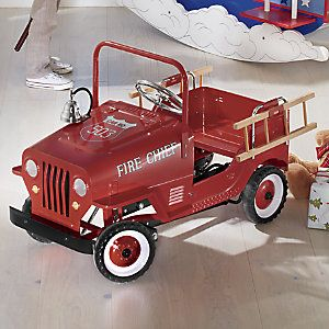 Personalized Pedal Fire Truck from Through the Country Door® | N2715097