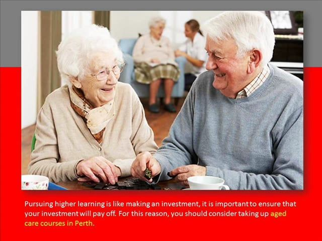 Why You Should Take Up Aged Care Courses? on Vimeo