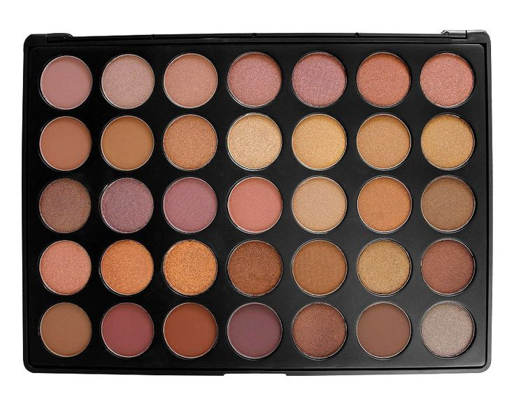 35 Taupe Eye shadow Pallet - Morphe Brushes
