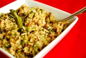 Better-than-the-packaged-stuff cheesy rice