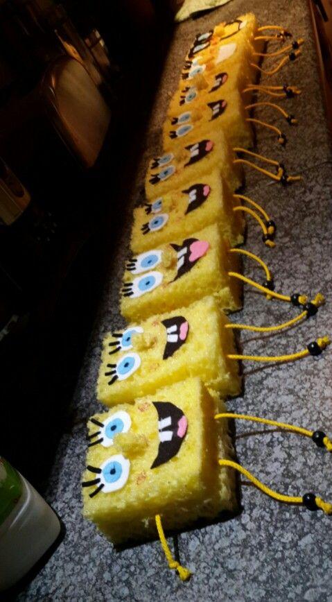 Spongebob party favors