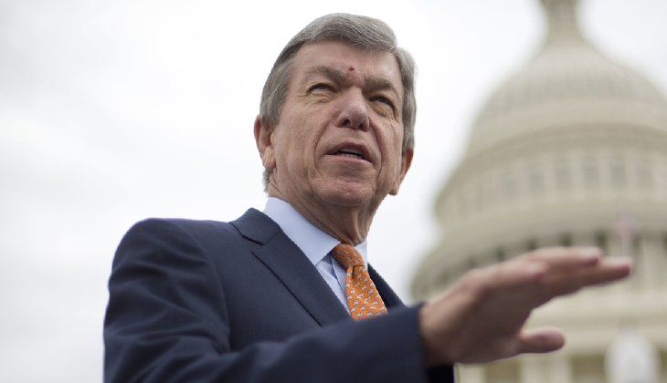 """It has been four months since they said they needed four months to put that in place. I think they can do that without a travel ban and I hope they are,"" Sen. Roy Blunt, R-Mo., said. (AP Photo/Pablo Martinez Monsivais)"