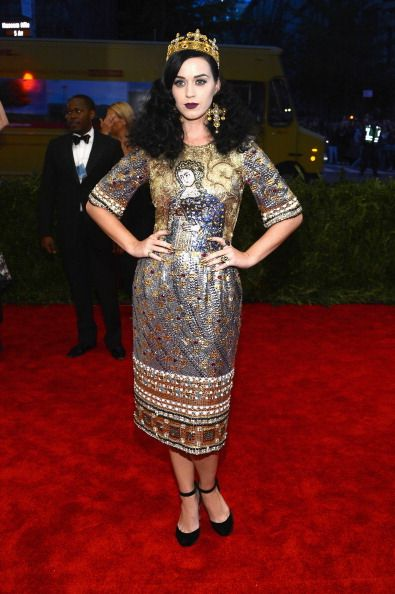 Katy Perry  2013 Met Gala in New York May 6 2013