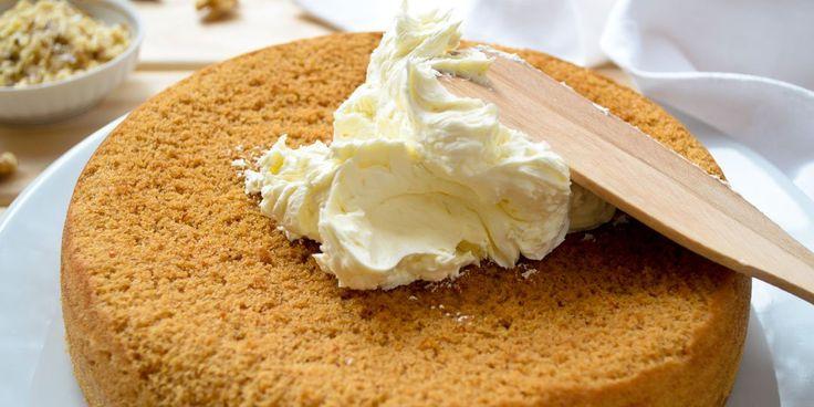 Κέικ με καφέ και καρύδια - Images