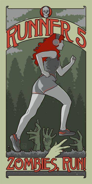 Zombies, Run! is now out for the Android OS. Guess who's going for a run this weekend?
