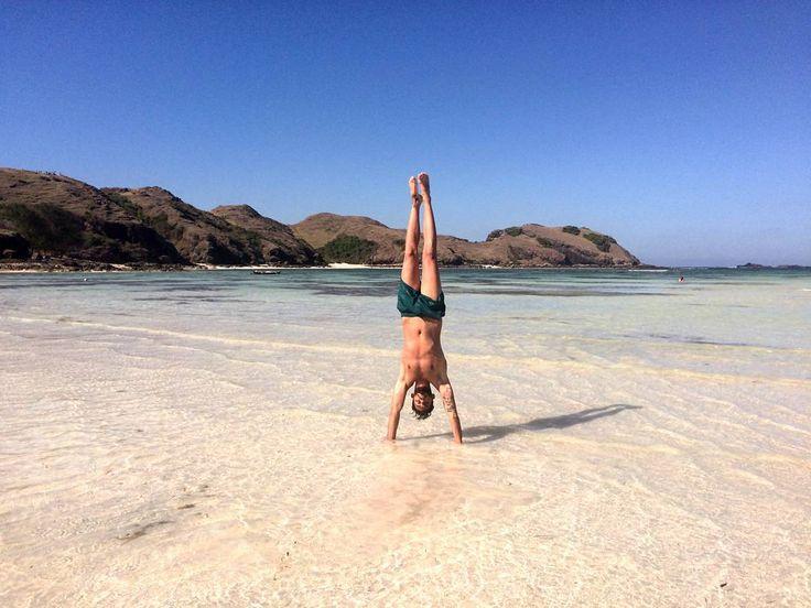Upside down in the best beach of Lombok! _ _ _ #vscocam #vscofilm #indonesia #love #lombok #artofvisuals #createcommune #welltraveled #explorelombok #lombokisland #exploretocreate #wonderfullombok #urbanexploration #igers #livefolkindonesia...