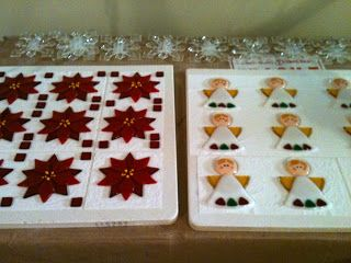 82 best Fused Glass Christmas Ornaments and Decorations images on
